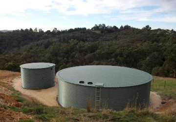 Metal Water Tanks