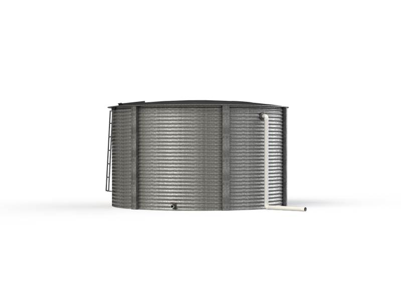 Aquamate Steel Water Tank 5.2m x 2.2m