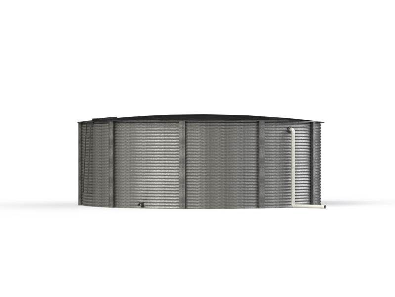 Aquamate Steel Water Tank 6.5m x 2.2m
